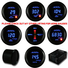 ADD W1 Blue color  Air Fuel + Turbo Boost + Volt  DIGITAL LED Gauges