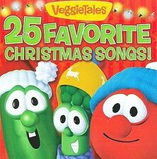 New CD - VEGGIETALES - 25 Favorite Christmas Songs! FREE SHIPPING