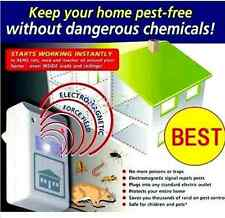 US Plug Electronic Ultrasonic Mouse Ant Roach Flea Mosquito Cockroach Repeller