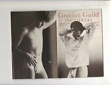 Grecian Guild Gay Art Male Models Physique Muscle Magazine/George Frisk 1-65