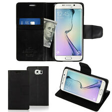 Slim Flip Leather Wallet Case Cover Skin Silicone Case For Samsung Galaxy Lot
