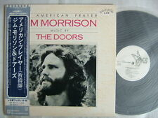 PROMO WHITE LABEL / THE DOORS JIM MORRISON AN AMERICAN PRAYER / WITH OBI