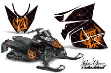 AMR Racing Sled Wrap Arctic Cat Pro Climb Snowmobile Graphics Kit 2012 RELOAD O