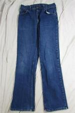 Vtg Lee USA Made 200 Series Denim Jeans Dark Measure 29x30.5 Cowboy Union Made