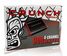 Crunch PZX900.4 900 Watt 4 Channel Bridgeable Amplifier Car Audio Amplifier New