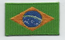 Embroidered BRAZIL Flag Iron on Sew on Patch Badge HIGH QUALITY APPLIQUE