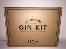 W&P Design ~ The Homemade Gin Kit ~ Glass Bottles, Juniper Berries & More NEW