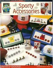 Sporty Accessories Sport Theme True Colors Cross Stitch Patterns Jerseys NEW