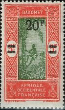 DAHOMEY SURCHARGE 20F S 5F N° 84 NEUF ** GOMME SANS CHARNIERE