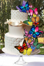 24 Edible Butterfly Wafer Cake Decorations,cupcake toppers,cookie toppers