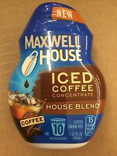 Maxwell House Iced Coffee Concentrate House Blend 1.62 oz 48 count BB Oct 2016