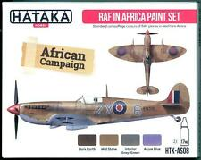 Hataka Hobby Paints ROYAL AIR FORCE IN AFRICA Acrylic Paint Set