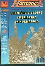 39-45 MAGAZINE - PREMIÈRE VICTOIRE AMÉRICAINE EN NORMANDIE - COTENTIN -CHERBOURG