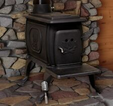 Wood Burning Stove Cast Iron Log 900FT Square Heating Fire Pit Kitchen Fireplace
