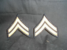 New GI ASU Gold on Blue Dress Blues Military Army Rank CPL E4 Set of 2