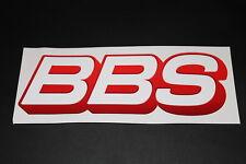 BBS Felgen Rims Aufkleber Sticker Decal Bapperl Kleber Autocollant Logo Schrift