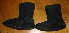 Women's Black Emu Boots (Used, Size 8) - Dry Cleaned!