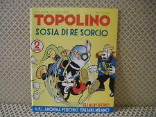 Topolino sosia di re Sorcio -Gli Albi d' Oro- Albo n. 24- 15 dicem. 1938  (AB0)