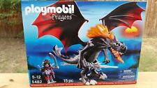 Giant Fighting Dragon LED Lights Up! - Play Set Toy by Playmobil (5482) NEW! CIB
