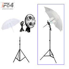 "Photo Studio kit 4in1 E27 socket + 220cm light stand + 33 "" Softlight Umbrella"