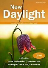 New Daylight January - April 2014: Your Daily Bible Reading, Comment and Prayer,