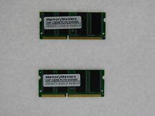256MB  (2X128MB) MEMORY 16X64 PC100 8NS 3.3V SDRAM 144 PIN SO DIMM