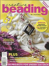 Creative Beading magazine Projects DIY beads Crystals Fashion jewelry Necklace