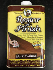 Howard Restor-A-Finish Dark Walnut