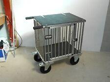 """Titan Medio 1 Ormeggio Alluminio Cane Show Trolley with 8"""" Tutti I Terreni Ruote"""