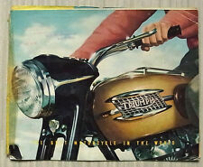 TRIUMPH MOTORCYCLES Sales Brochure 1957 #285/56  SPEED TWIN Tiger 100 TROPHY ++