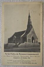 """CPA """" Nef de l'Eglise des Héros de Rancourt, Bouchavesnes, Sailly-Saillisel"""