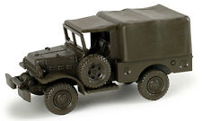 HO 1/87 Minitanks # 743570  Dodge 3/4 ton Truck 4x4 w/Canvas : 225 US Army