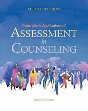 NEW - Free Express Ship - Principles & Applications of Assessment in Counseling