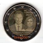 2 EURO COMMEMORATIVO LUSSEMBURGO 2015 Granduca