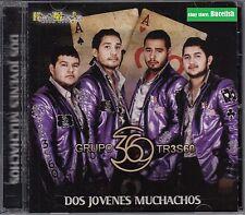 Grupo 360  TR3SGO CD Nuevo sealed  dos jovenes Muchachos