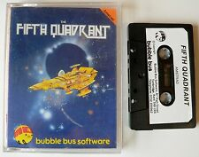 The Fifth Quadrant By Bubble Bus Software For Amstrad CPC 464/664/6128