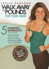 Walk Aerobics - Walk Away The Pounds For Your Week - 5 Workouts - LESLIE SANSONE