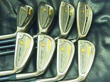 Honma Ladies LB606 New H&F 18K gold golf iron 2stars (4 - 11) Excellent!