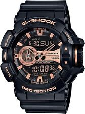 Brand New Casio G Shock GA400GB-1A4 Rotary Black Rose Ana Digi Men's Watch NWT!!