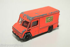 EFSI COMMER VAN FIRE SERVICE FLUOR ORANGE GOOD CONDITION