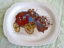 Early 1980's Syracuse Restaurant Ware Western Wells Fargo Plate or Platter