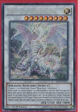 Yugioh SHVI-EN052 Blue-Eyes Spirit Dragon Secret Rare Card