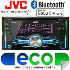 JVC KW-R910BT Bluetooth CD MP3 Car Stereo Radio USB Aux Player BLACK FRIDAY