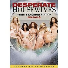Desperate Housewives Third Season 3 Three DVD  6-Disc Dirty Laundry Edition New