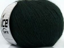 Peru Alpaca Light DK Yarn #38142 Dark Green Ice 50gr 191yds Alpaca, Merino Wool