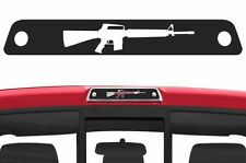 Vinyl Rear Decal Third Brake Light M-16 Wrap Kit for Ford F-150 2009-2014 Black