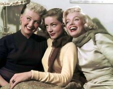 MARILYN MONROE LAUREN BACALL BETTY GRABLE SPECIAL   8X10 PHOTO
