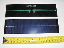 3V x 500 ma. Mini solar panel   epoxy encapsulated virtually indestructible 1.5W