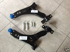 FORD FOCUS MK1 98-04 TWO FRONT LOWER WISHBONES SUSPENSION ARMS + 4 FITTING BOLTS