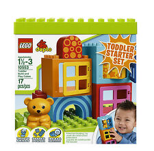 LEGO DUPLO Toddler Build and Play Cubes Building Set  # 10553  by Lego